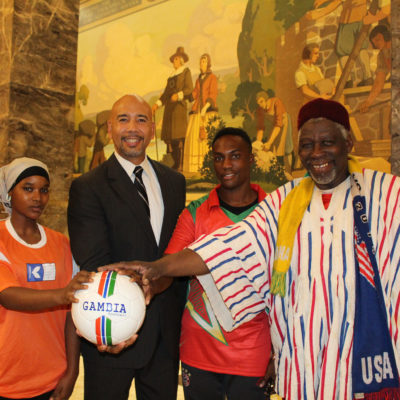 BP Diaz Hosts African Soccer Awards Event