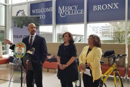 """BP Diaz & Bronx Tourism Council Announce """"Tour De Bronx 2018"""""""