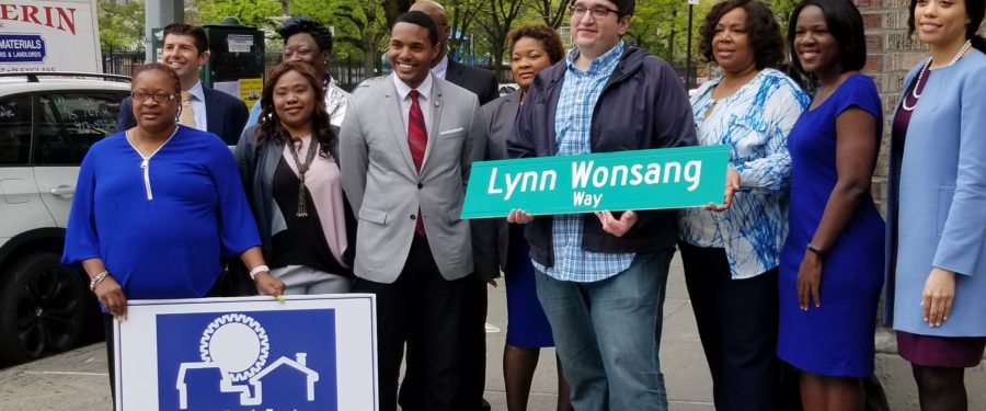 Unique People Services: The Unveiling Of Lynn Wonsang Way