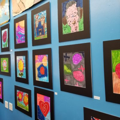 Unique People Services Hosts Art Exhibit