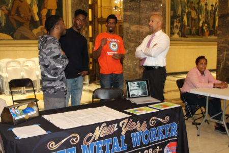 """Construction Career Information Session"" Held In Bronx"