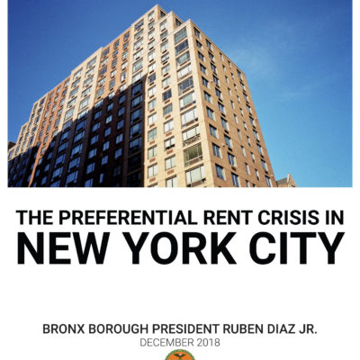 The Preferential Rent Crisis In New York City