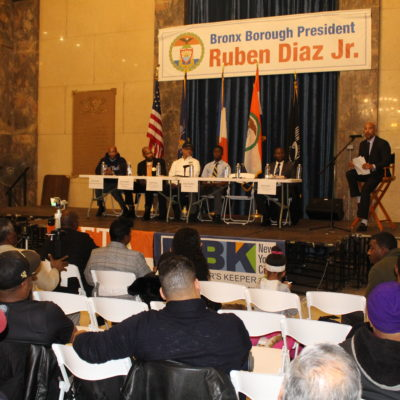 """BP Diaz Hosts """"Fathers & Youth In Unity"""" Community Conversation"""