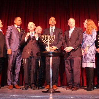 BP Diaz Hosts Annual Chanukah Celebration & Menorah Lighting