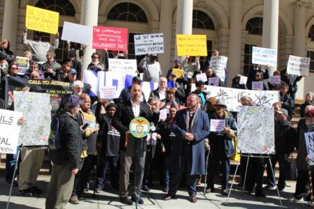 BP Diaz & Community Leaders Rally To Stop Bronx Jail Proposal