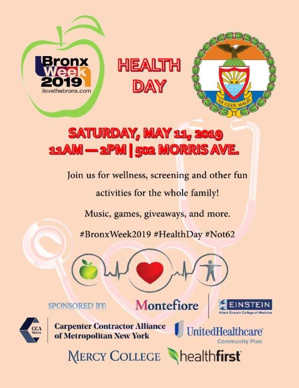 Bronx Week Health Day Event