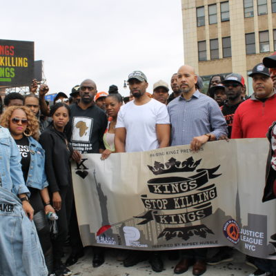Anti-Violence March On Grand Concourse