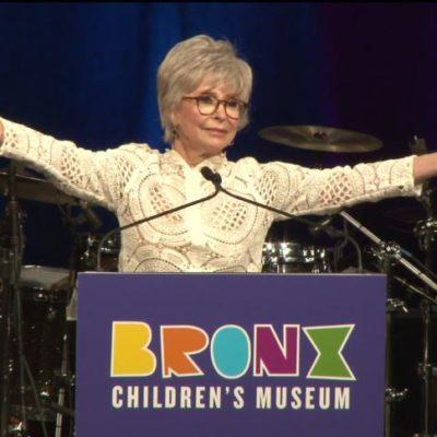 Bronx Children's Museum Celebrates Gala Honoree Rita Moreno Becoming First Latina And #BronxGrown PEGOT