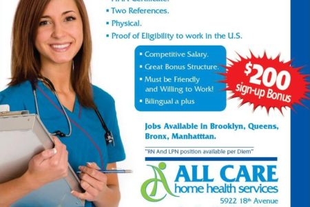 Home Health Aides Wanted ASAP