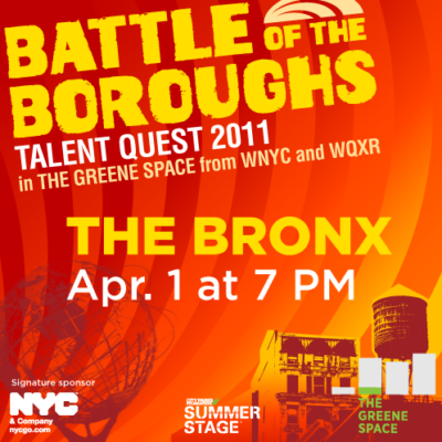 Bronx's Emerging Music Talent
