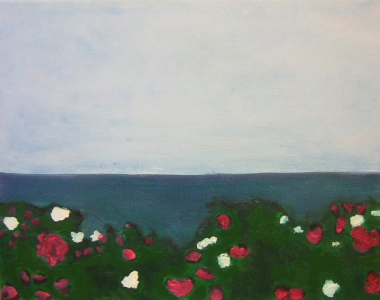 Beach Rose by Hannah Corbett.