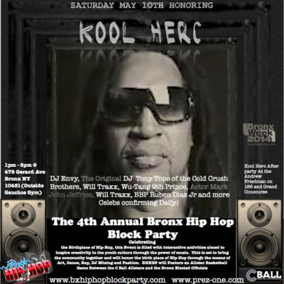 4th Annual Bronx Hip Hop Block Party