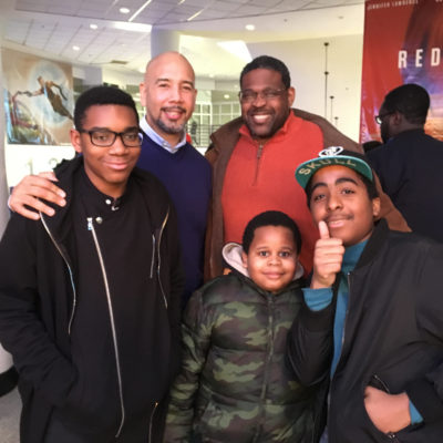 """BP Diaz & The Shadow League Co-Host Screening Of """"Black Panther"""" For Bronx Students & Their Families"""