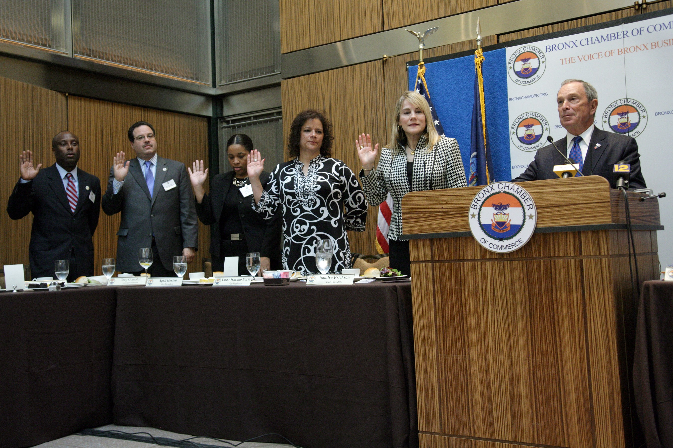 New leaders swearing-in ceremony.