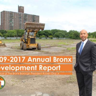 "BP Diaz Releases ""Bronx Annual Development Report"""