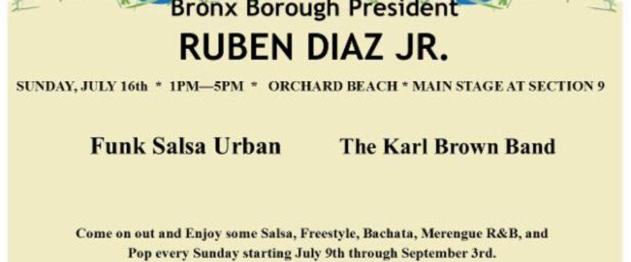 Bronx Summer Concert Series At Orchard Beach