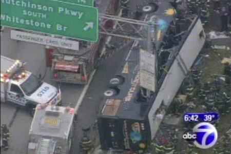 Fourteen Dead In A Horrific Bronx Tour Bus Crash