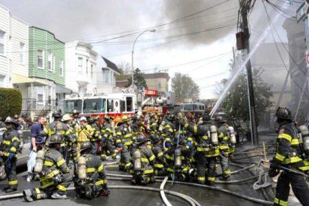 20 Injured In Four-Alarm Bronx Fire