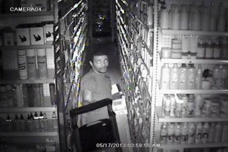 Bronx Robber Caught On Surveillance Video