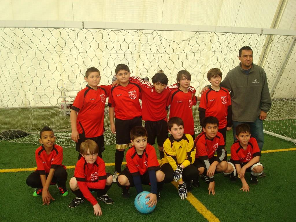 Boys U-10 (3rd place).