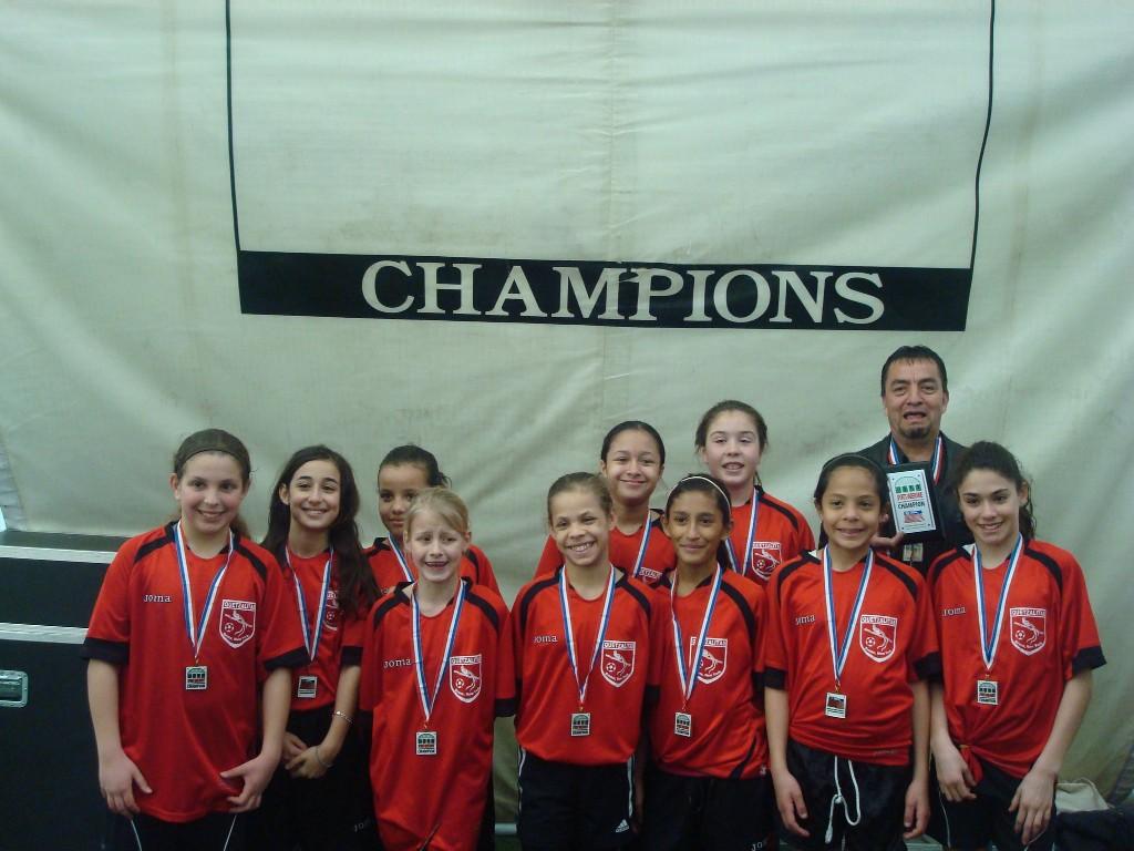 Girls U-11, Champions.