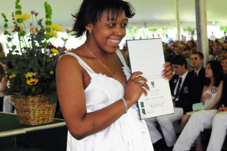 Amber Coleman Received Honors