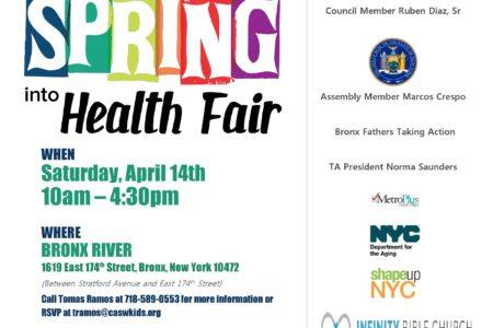 Health Fair At The Bronx River Community Center