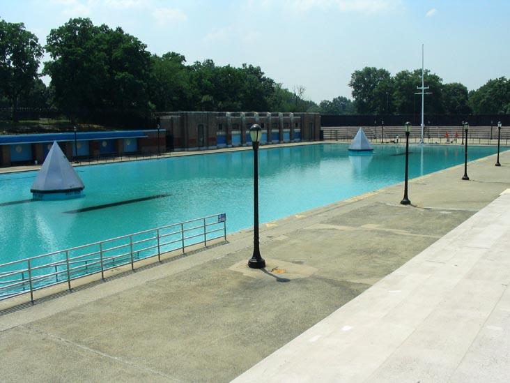 Crotona Park pool.