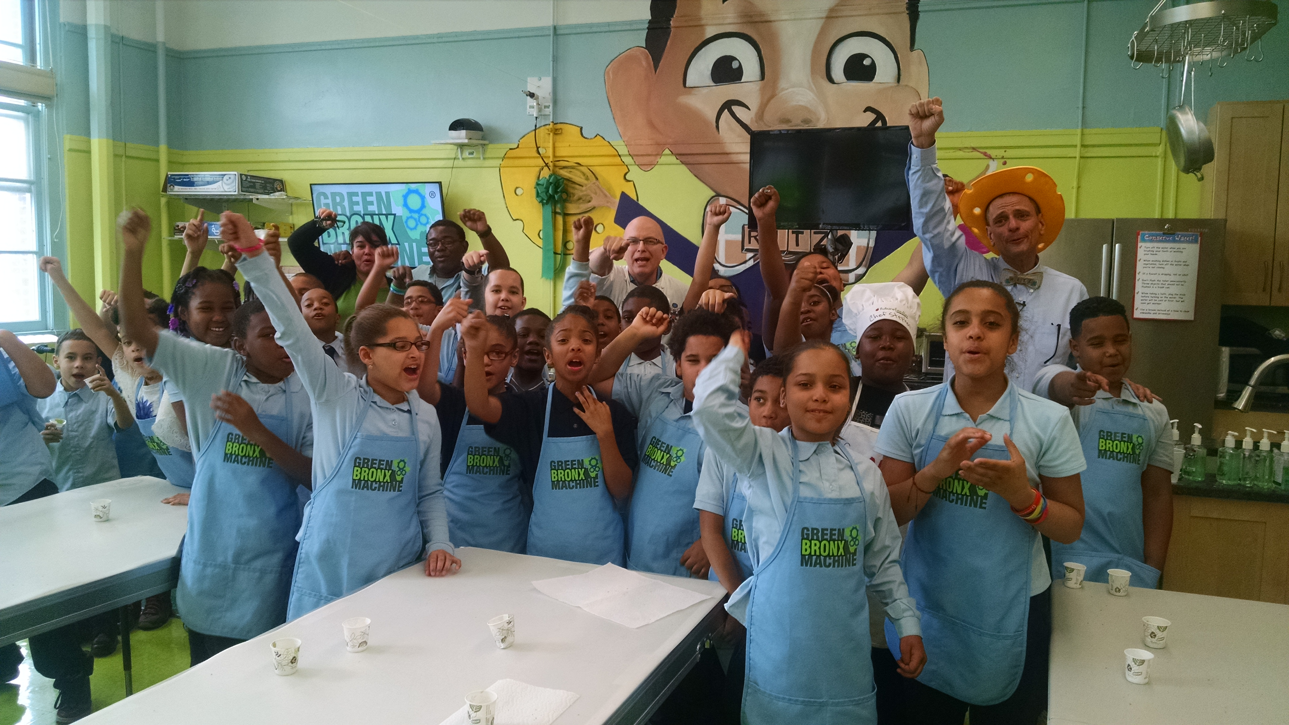 Gala Ribbon Cutting on NYC's First-Ever Elementary-Workforce Development School