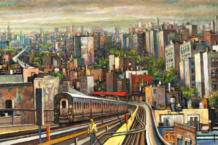 Artist's Tribute To His Beloved Borough