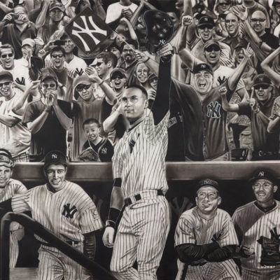 Official Jeter Painting Released Ahead Of Legend's Farewell