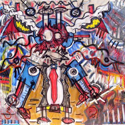 Art Exhibit Belligerently Depicting The Morale Of Life & Art For Arts Sake