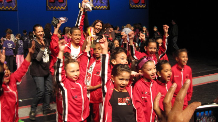 Edge Dance Academy's Mini Team.