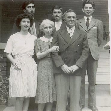 Lt. Jospeh E. Roseberry's family.