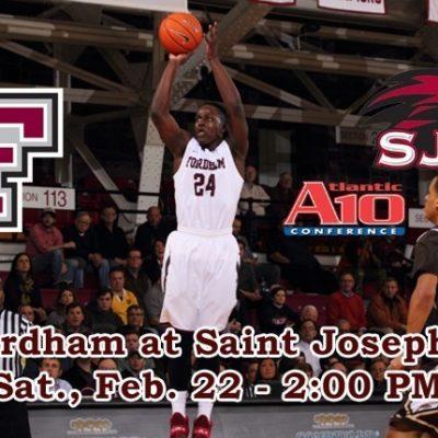 Fordham Basketball Travels To St. Joseph's