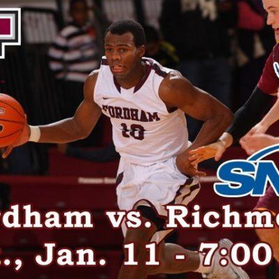 Fordham Basketball Hosts Richmond