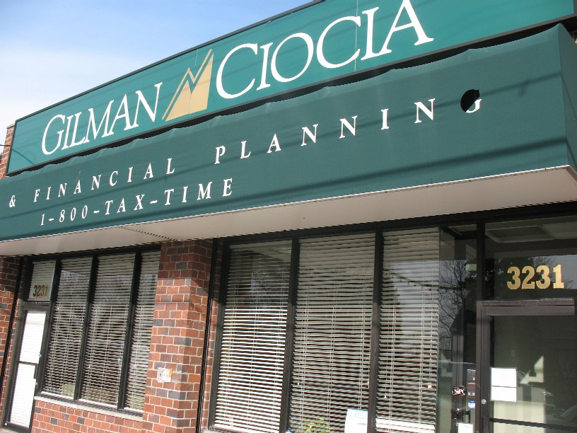 Gilman Ciocia office at 3231 E. Tremont Ave.