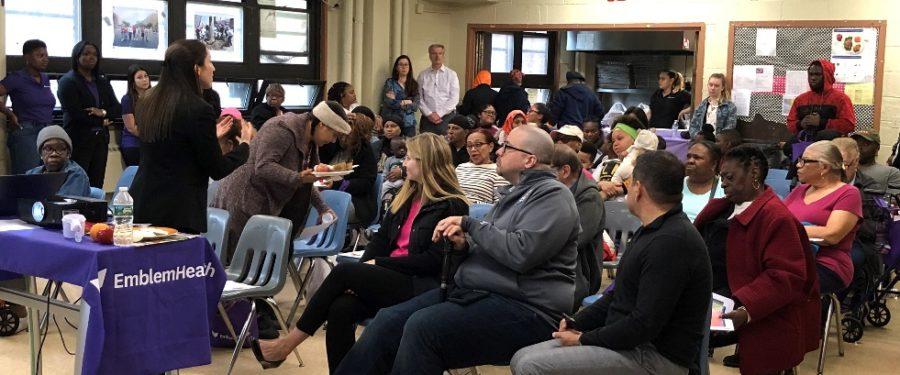 EmblemHealth & State Senator Rivera Co-Sponsor Community Health Series In Bronx