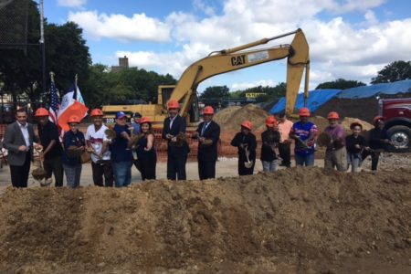 NYC Parks Breaks Ground On $3.4 Million Makeover Of Parque De Los Niños Ballfields And Running Track
