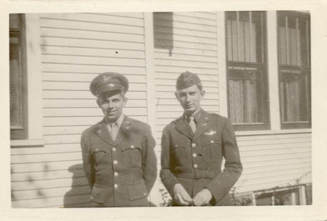Lt. Jospeh E. Roseberry and brother Raymond