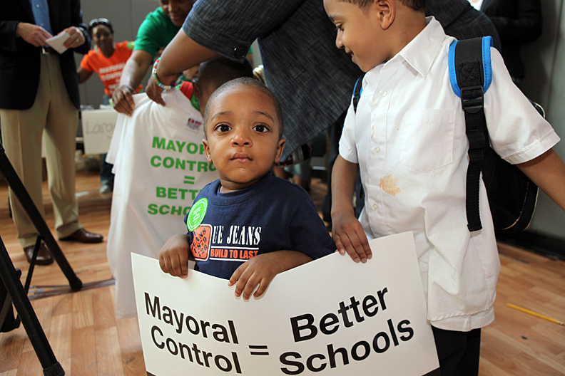 5,000 Rally For Mayoral Control