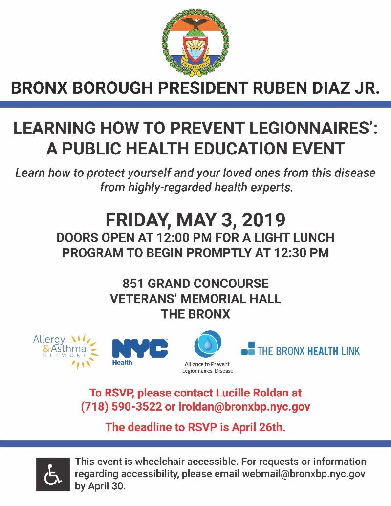 Learn How To Prevent Legionnaires' Disease
