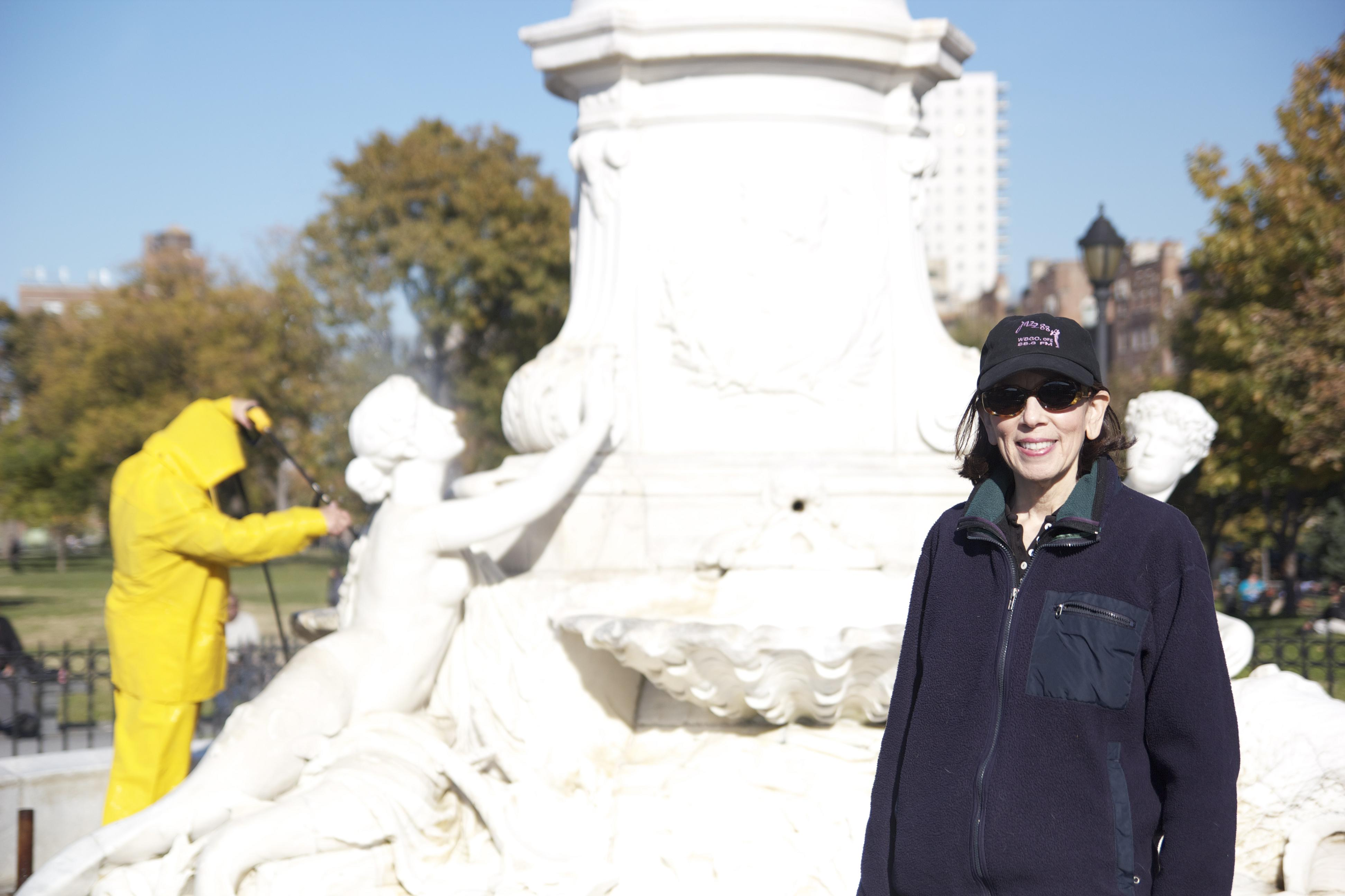 Phyllis Cohen, director of the Municipal Art Society's Adopt-A-Monument program.