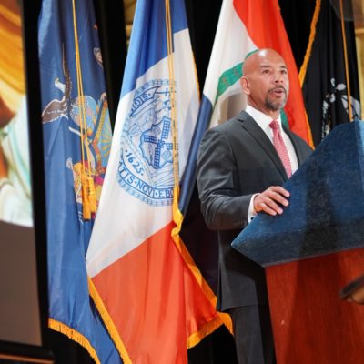 """BP Diaz Launches """"Camp Junior"""" At His Annual """"State Of The Borough"""" Address"""