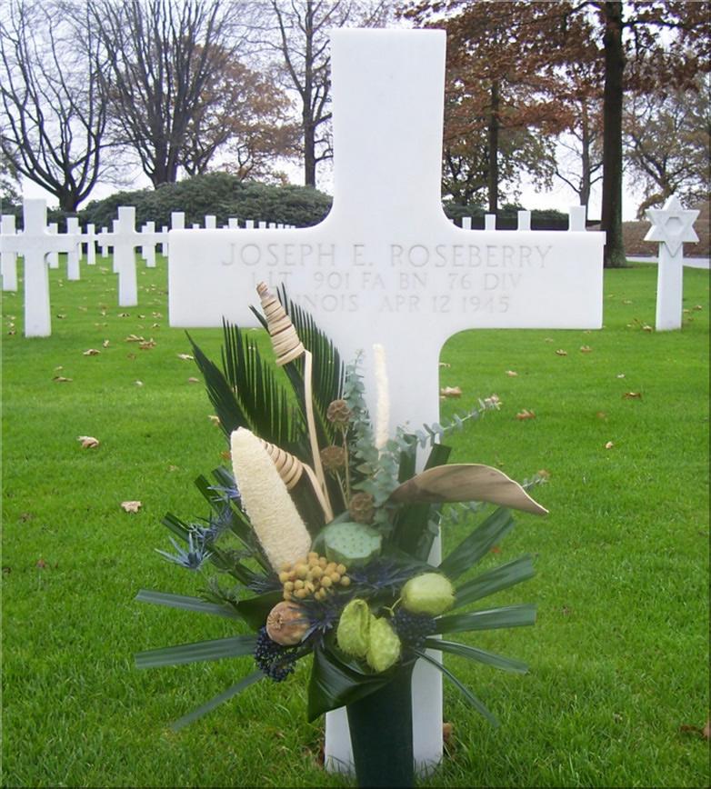 Lt. Jospeh E. Roseberry's grave