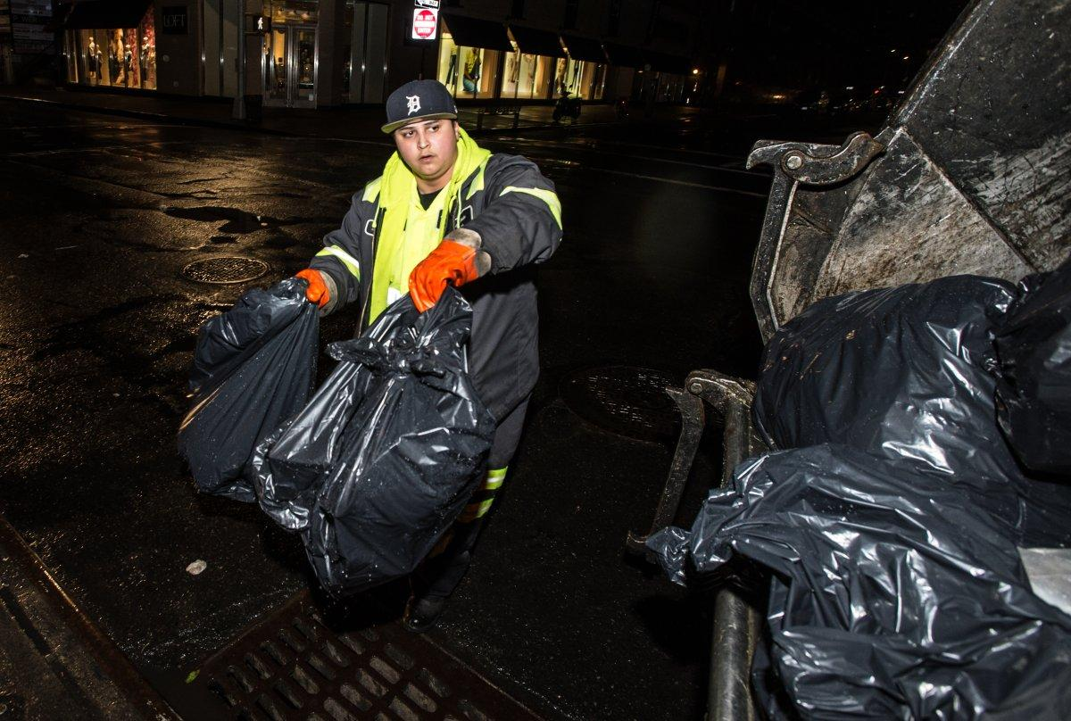 Bronx Sanitation Worker May Haul A Lot Of Trash, But Her Job's Not Garbage