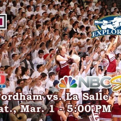 Fordham Basketball Hosts La Salle