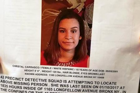 Help Find The Missing Teenager Cristal Carrasco, 15
