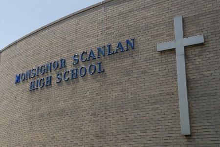 Monsignor Scanlan High School Damaged In Fire
