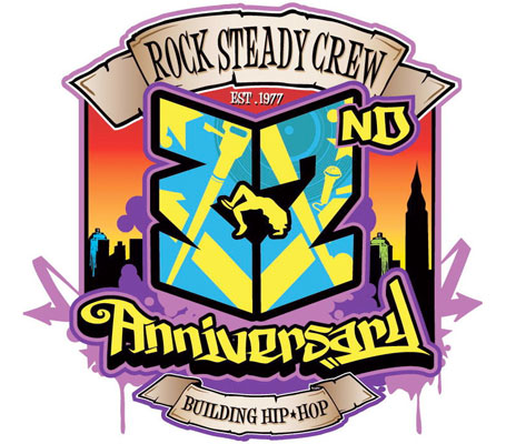 Rock Steady logo.